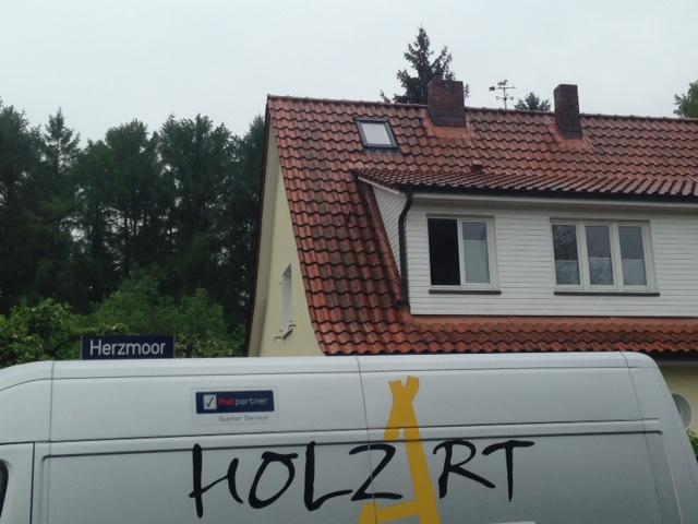 einbau velux dachfenster aus kunststoff mit dach ffnung in hamburg langenhorn. Black Bedroom Furniture Sets. Home Design Ideas