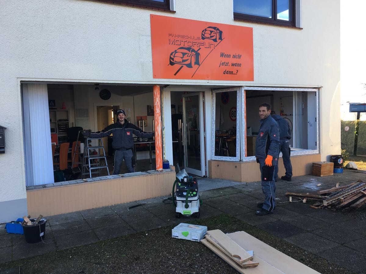 PaX-Kunststofffenster Für Fahrschule In Bad Segeberg